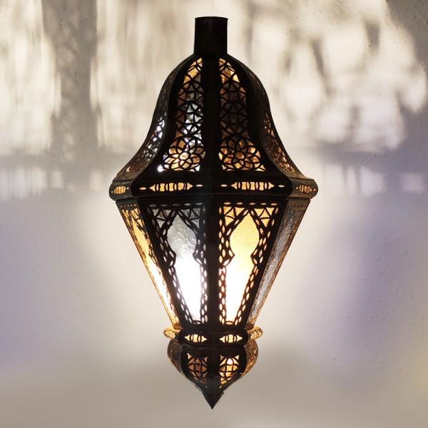 Marokkanische Wandlampe Glas Belota