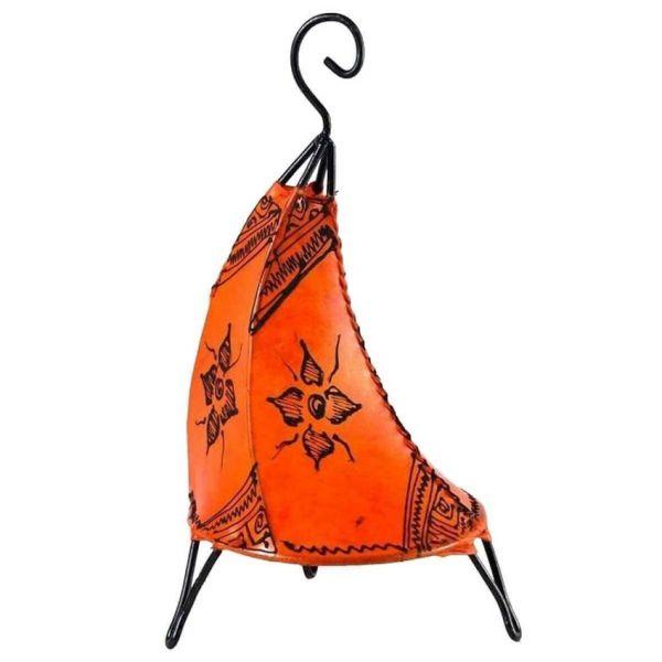 Orientalische Tischlampe Maya Orange 38
