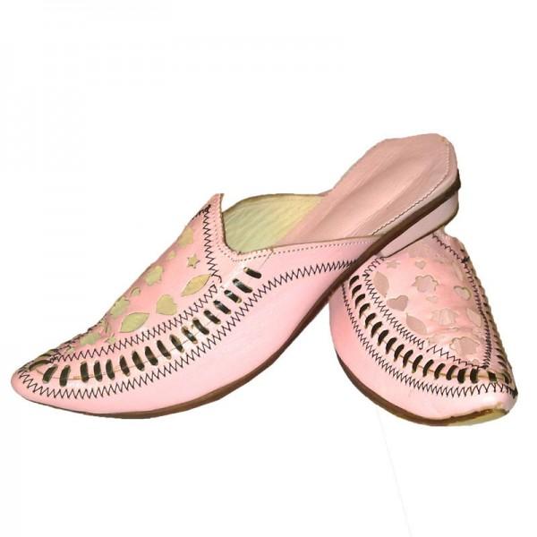 Orientalische Damen-Schuhe Rosa