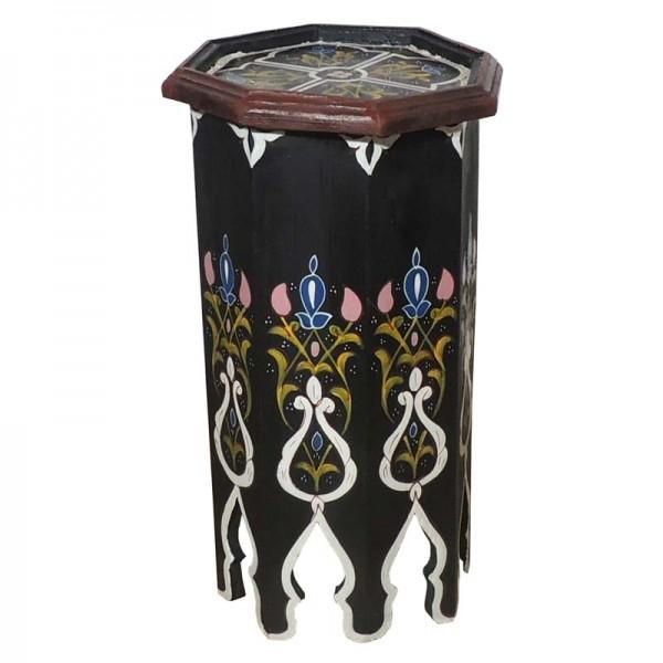 Marokkanischer Tisch Tola Schwarz