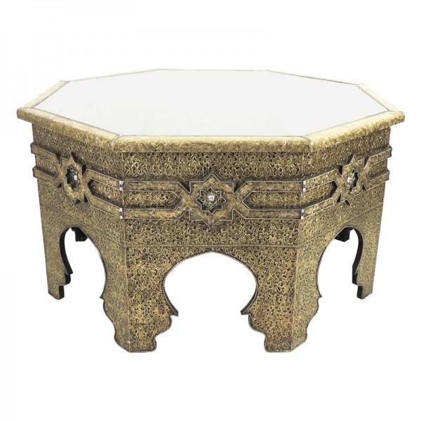 Orientalischer Tisch Dalal Messing