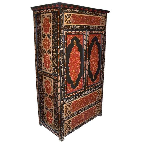 Orientalischer Schrank Arabia bemalt