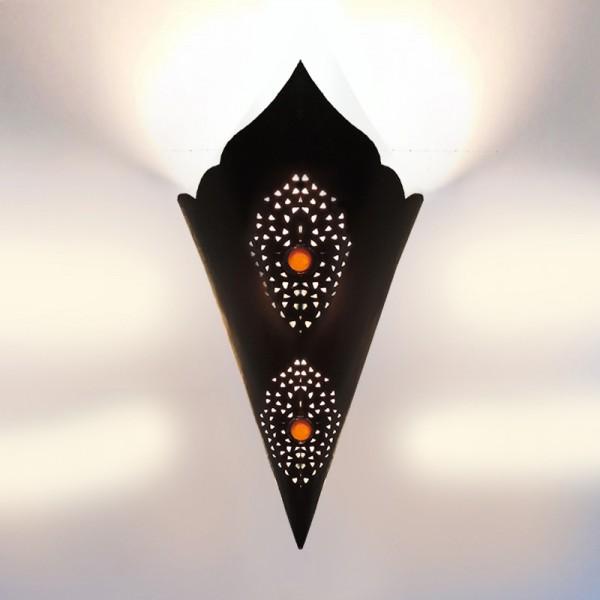 Orientalische Wandlampe Eisen Nasir