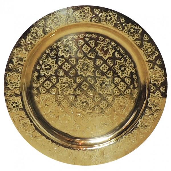 Orientalisches Messingtablett Bnani 40 cm