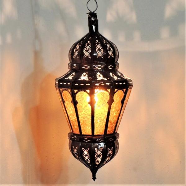 Orientalische Hängeleuchte Lubna Gelb