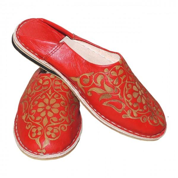 Orientalische Damenschuhe Warda Rot