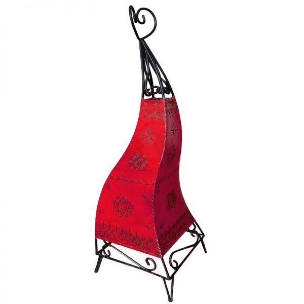 Marokkanische Stehlampe Sara Rot 80