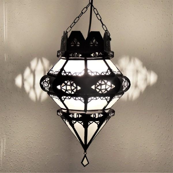 Marokkanische Deckenlampe Rita Weiß