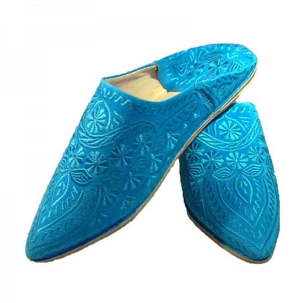 Orientalische Schuhe Bahya Blau