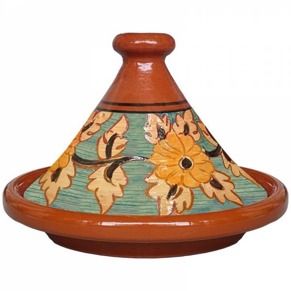Marokkanische Tagine Fleur Grün