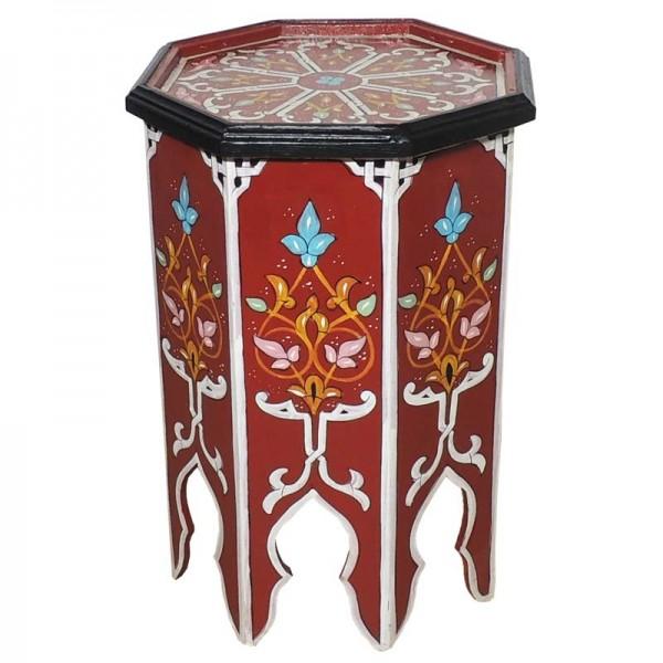 Orientalischer Beistelltisch Warda Rot
