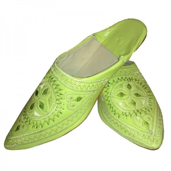 Orientalische Schuhe Andalus Grün