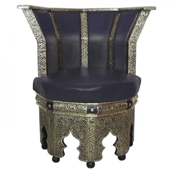Orientalischer Sessel Schwarz