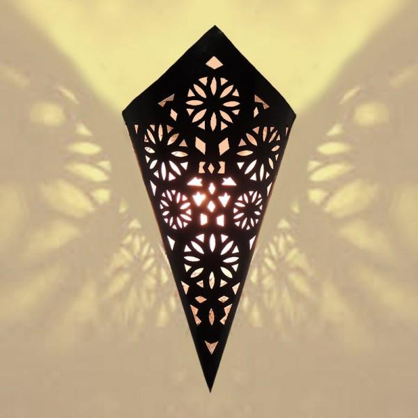 Orientalische Wandlampe Metall Manal