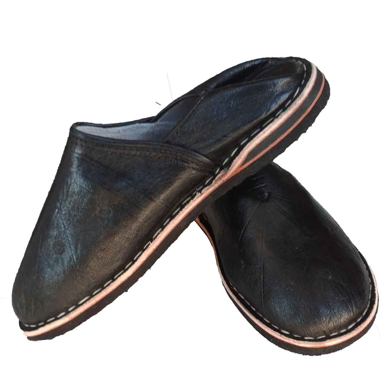 Orientalische Schuhe Sindbad Schwarz