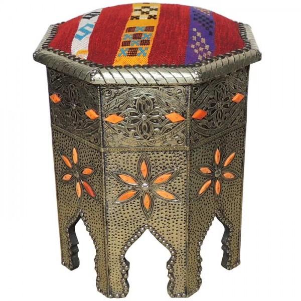 Orientalischer Hocker rund