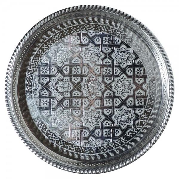 Teetablett aus Marokko Fasi 32 cm