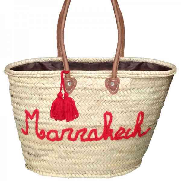 Marokkanische Korbtasche handge
