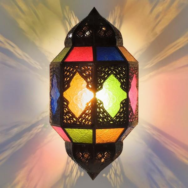 Marokkanische Wandlampe Titia Bunt