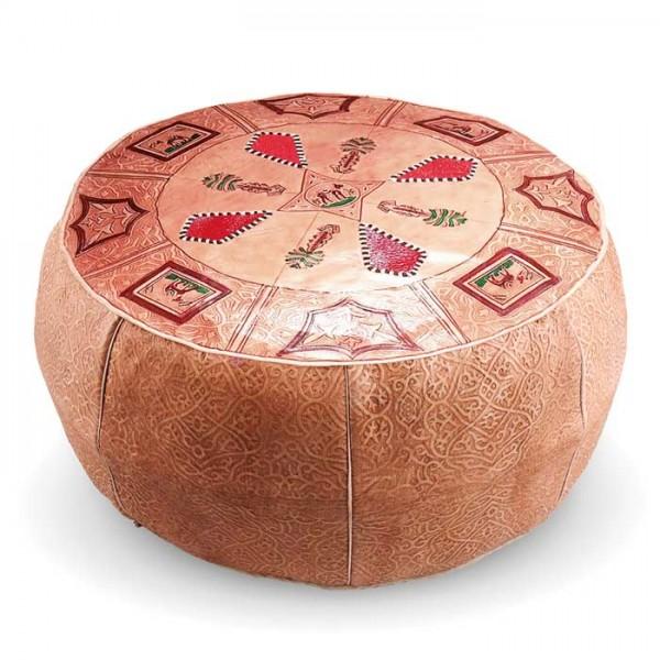 Marokkanisches Sitzkissen Losa Rot