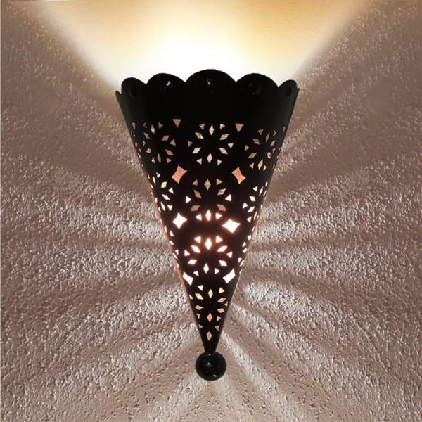 Orientalische Wandlampe Metall Amir