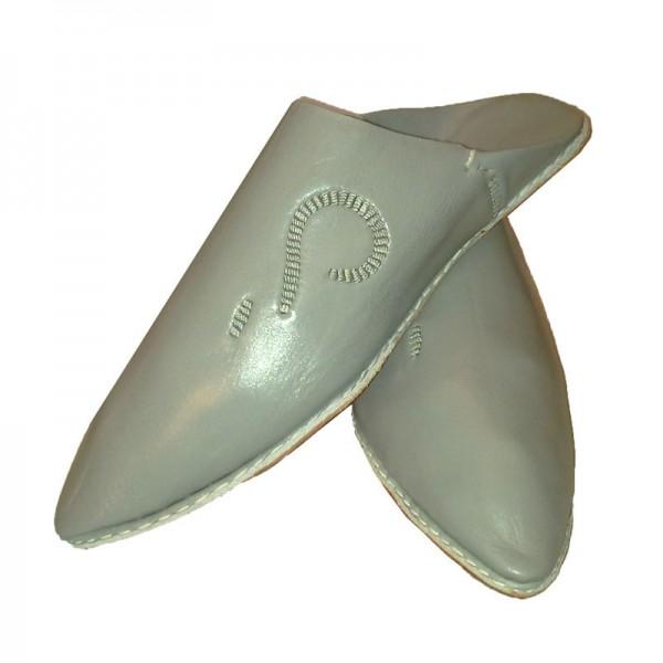 Orientalische Schuhe Fassi Grau