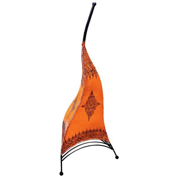 Orientalische Stehlampe Paris Orange 80