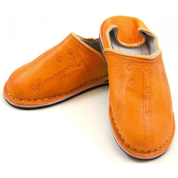 Orientalische Schuhe Orange