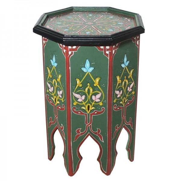 Orientalischer Beistelltisch Warda Grün