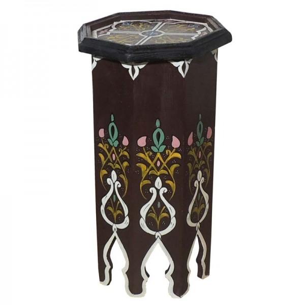 Orientalischer Tisch Holz Tola Braun