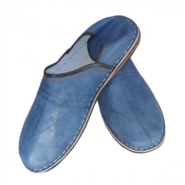 Orientalische Schuhe Sindbad Blau
