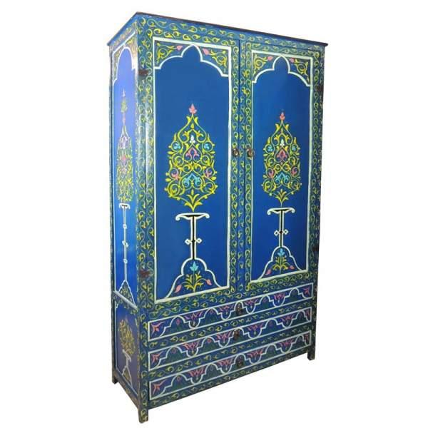 Orientalischer Schrank Nohayla Blau