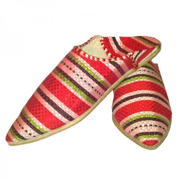 Orientalische Schuhe Alwan Rot
