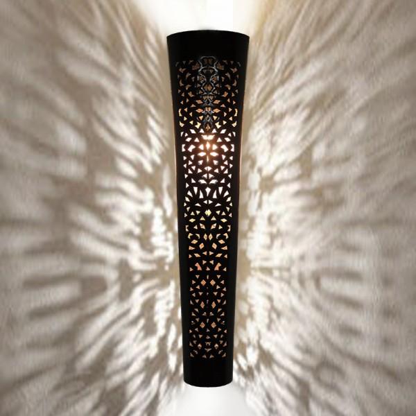 Marokkanische Wandlampe Metall Mila