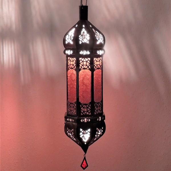 Marokkanische Hängelampe Serin Rot