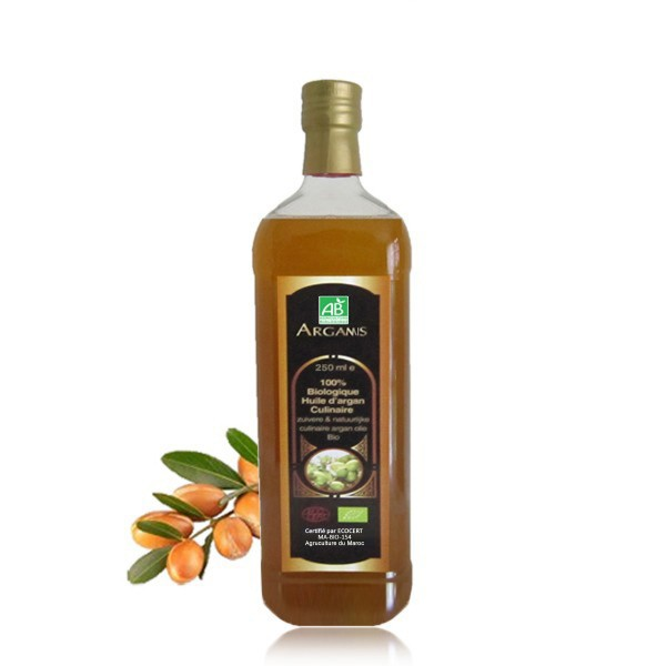 Arganöl (Gourmet) geröstet und  kaltgepresst