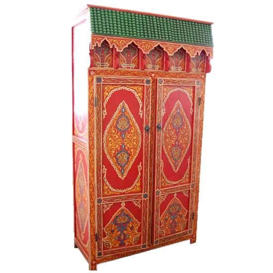 Orientalischer Schrank Zitona Rot