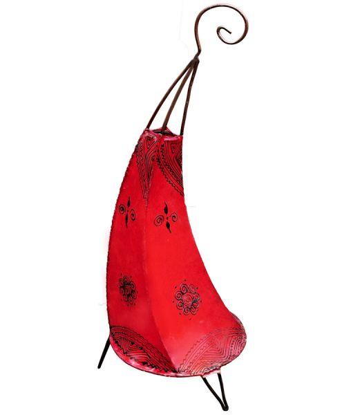 Marokkanische Stehlampe Maya Rot 70
