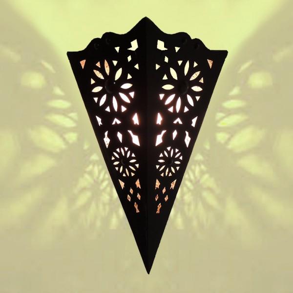 Wandleuchte aus Marokko Metall Tamir