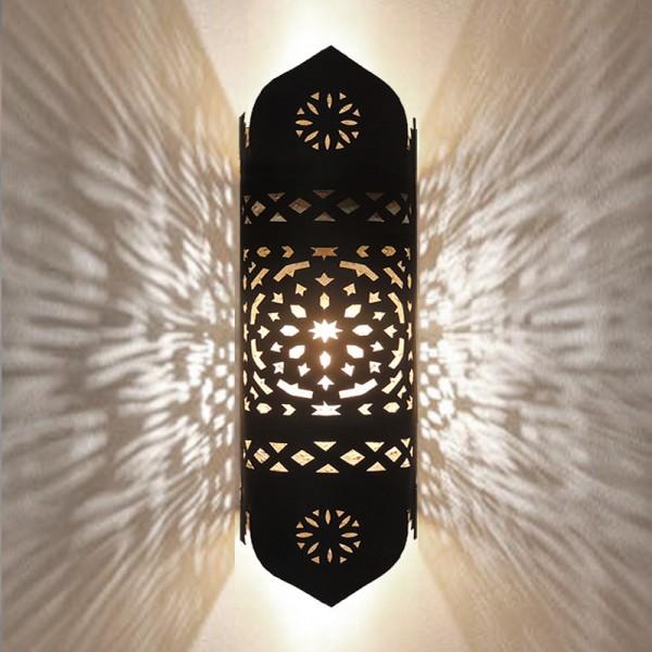 Marokkanische Wandleuchte Metall Alya