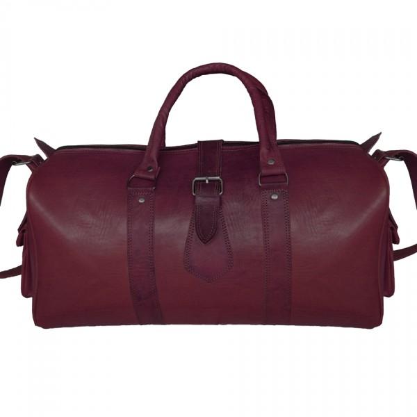 Marokkanische Leder Reisetasche Braun
