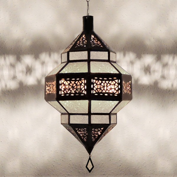 Orientalische Deckenleuchte Aya Weiß