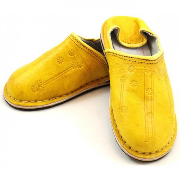 Orientalische Schuhe Gelb