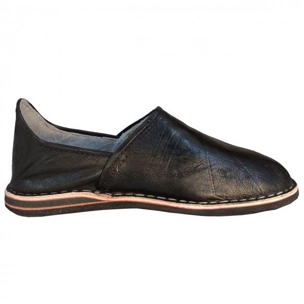 Orientalische Schuhe Sindbad Schwarz geschlossen