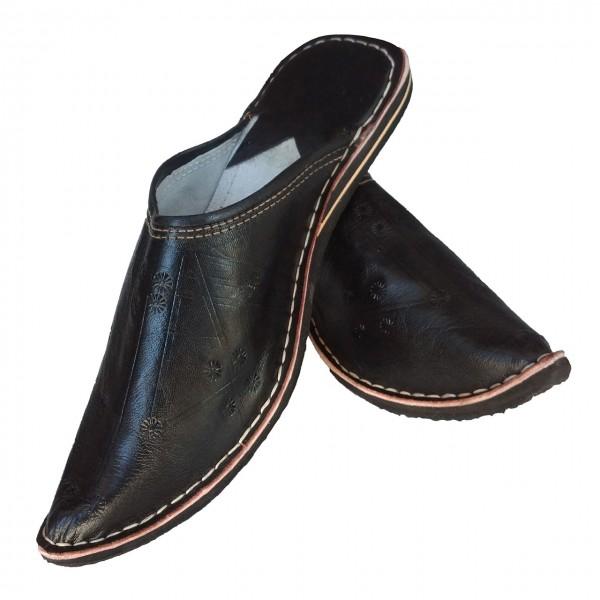 Marokkanische Schuhe Aladdin Schwarz