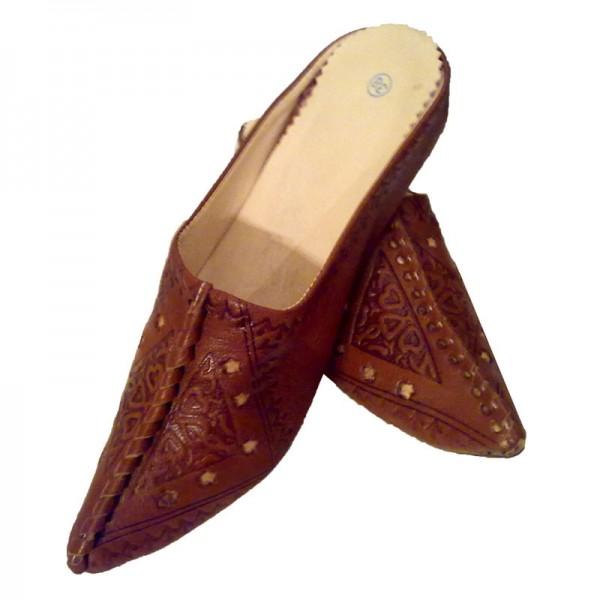 Orientalische Schuhe Najma Braun