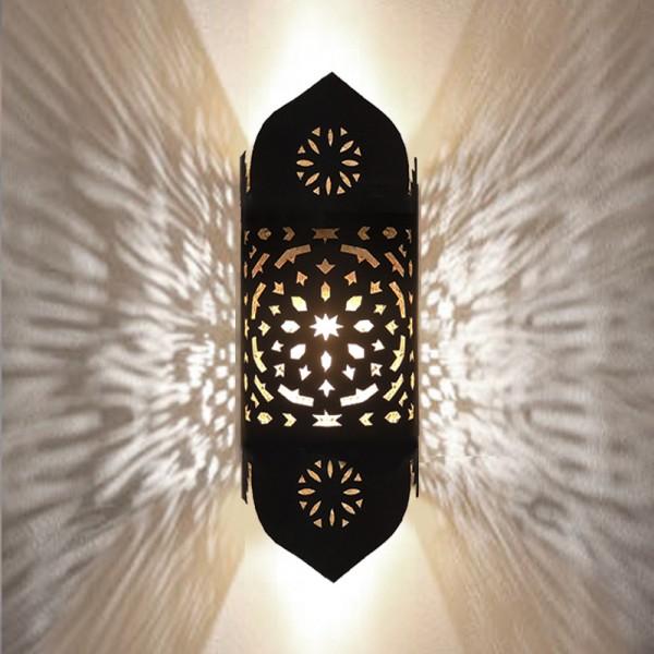 Orientalische Wandleuchte Metall Sami