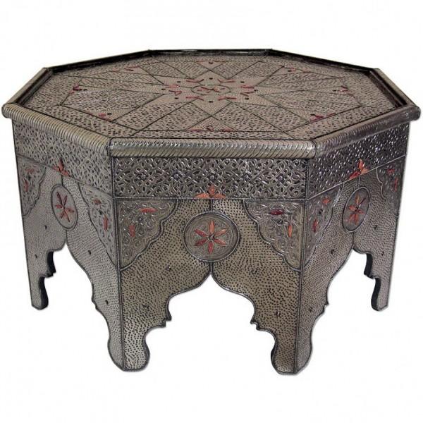 Orientalischer Tisch Sahab rund 120cm