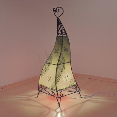 Orientalische Tischlampe Sara Natur 37
