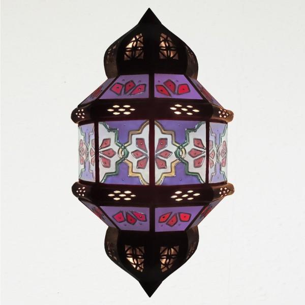 Orientalische Wandleuchte Handbemalt